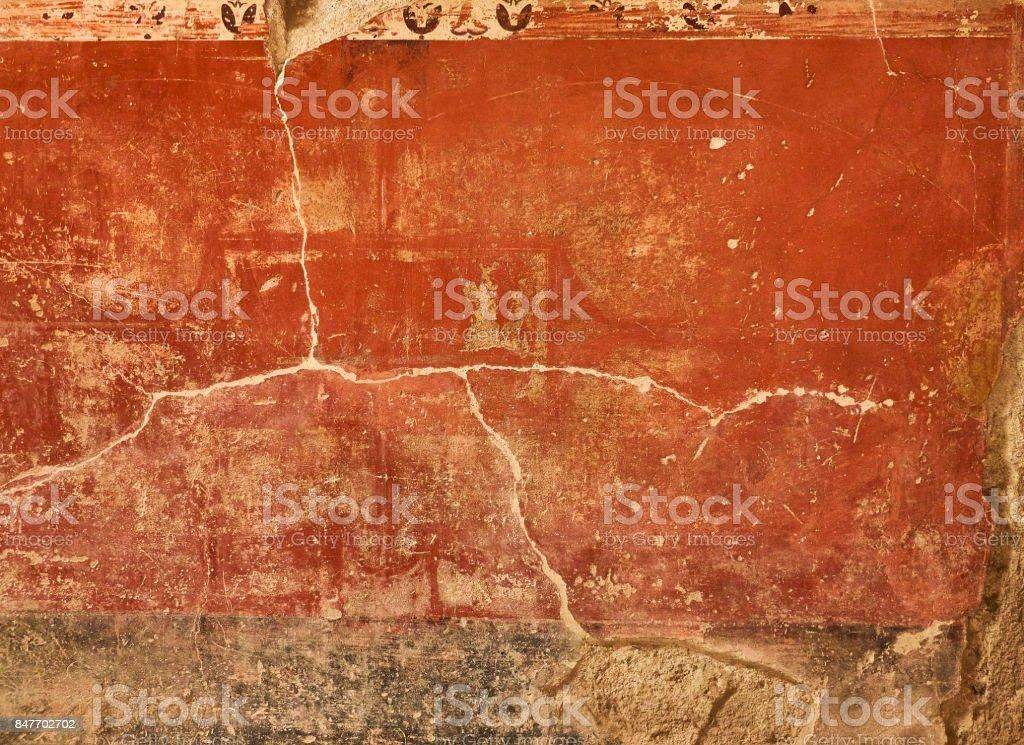 Ruins of Pompeii, ancient Roman city. Pompei, Campania. Italy. - foto stock