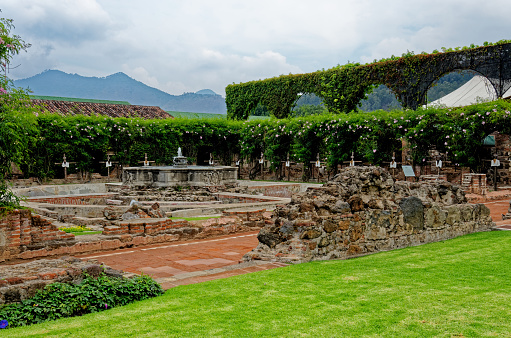 Ruins of Posada de San Carlos La Calzada - Antigua, Guatemala - 22nd of April 2011