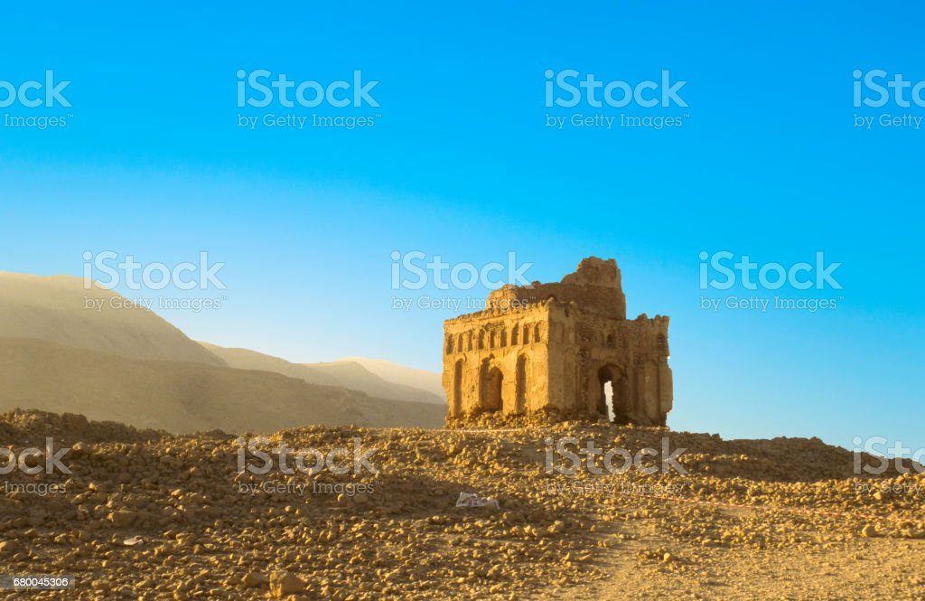 Ruins Of Qalhat An Old Abandoned Former Capital In Oman Arabic