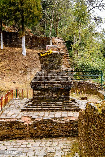 istock Ruins of Royal Palace of Rabdentse, the second capital of the former Kingdom of Sikkim 1013536714