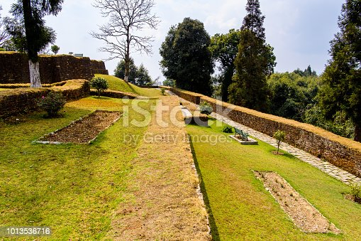 istock Ruins of Royal Palace of Rabdentse, the second capital of the former Kingdom of Sikkim 1013536716