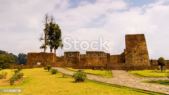 istock Ruins of Royal Palace of Rabdentse, the second capital of the former Kingdom of Sikkim 1013536790