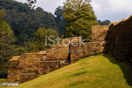 istock Ruins of Royal Palace of Rabdentse, the second capital of the former Kingdom of Sikkim 1013536806