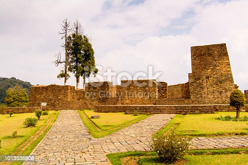 istock Ruins of Royal Palace of Rabdentse, the second capital of the former Kingdom of Sikkim 1013536808