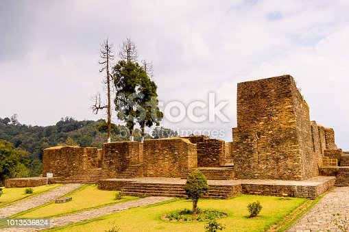 istock Ruins of Royal Palace of Rabdentse, the second capital of the former Kingdom of Sikkim 1013536824