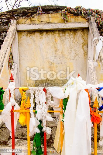 istock Ruins of Royal Palace of Rabdentse, the second capital of the former Kingdom of Sikkim 1013536862