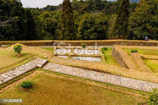 istock Ruins of Royal Palace of Rabdentse, the second capital of the former Kingdom of Sikkim 1013536928