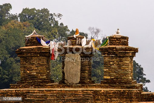 istock Ruins of Royal Palace of Rabdentse, the second capital of the former Kingdom of Sikkim 1013536938