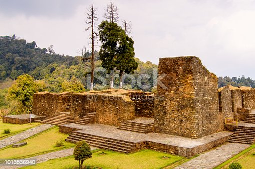 istock Ruins of Royal Palace of Rabdentse, the second capital of the former Kingdom of Sikkim 1013536940