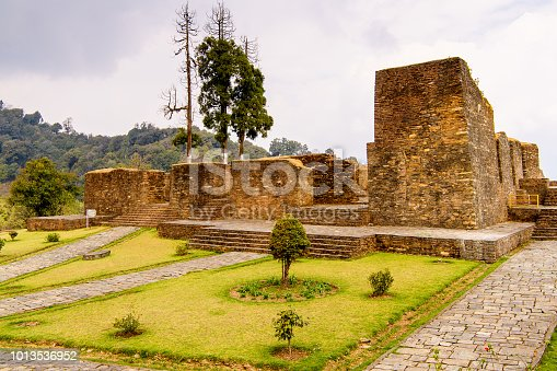 istock Ruins of Royal Palace of Rabdentse, the second capital of the former Kingdom of Sikkim 1013536952