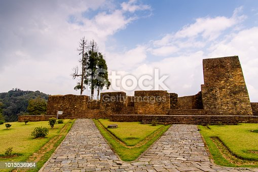 istock Ruins of Royal Palace of Rabdentse, the second capital of the former Kingdom of Sikkim 1013536964
