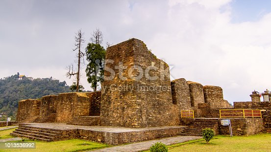 istock Ruins of Royal Palace of Rabdentse, the second capital of the former Kingdom of Sikkim 1013536992