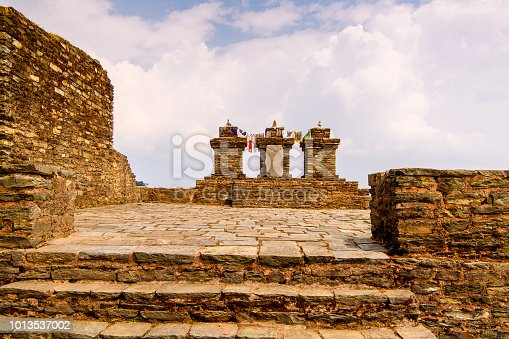 istock Ruins of Royal Palace of Rabdentse, the second capital of the former Kingdom of Sikkim 1013537002