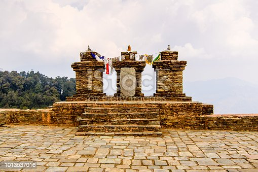 istock Ruins of Royal Palace of Rabdentse, the second capital of the former Kingdom of Sikkim 1013537016