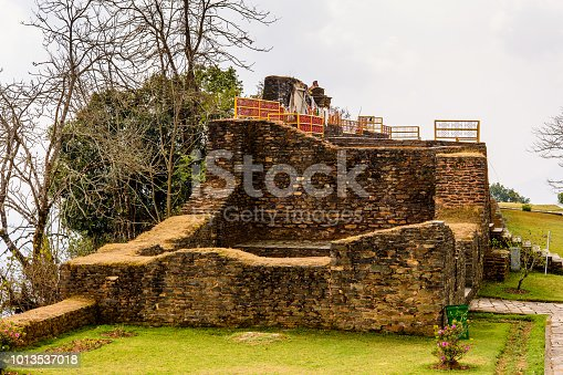 istock Ruins of Royal Palace of Rabdentse, the second capital of the former Kingdom of Sikkim 1013537018