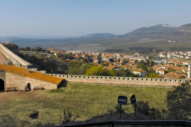 Belogradchik Kalesi Harabeleri, Bulgaristan stok fotoğrafı