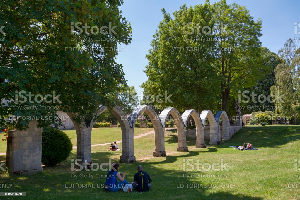 Ruins of the Jacobins Convent in Compiegne - Royalty-free Ancient Stock Photo