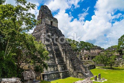 istock Ruins of Tikal 899739466