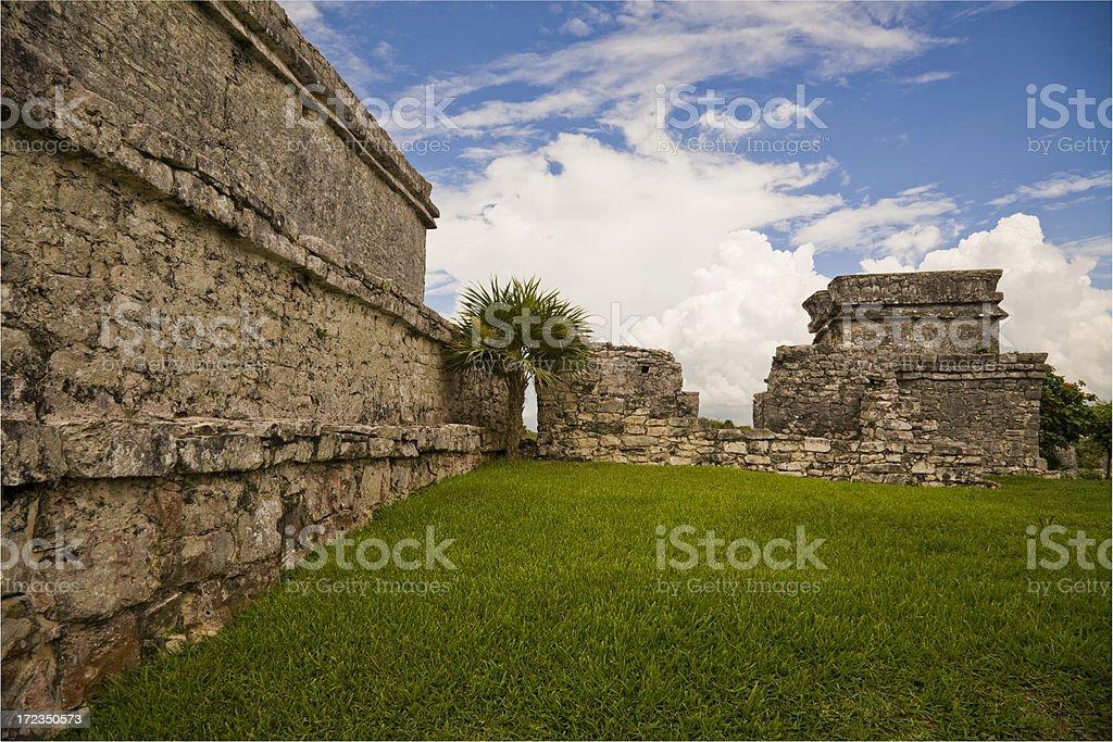 Ruins of Tulum royalty-free stock photo