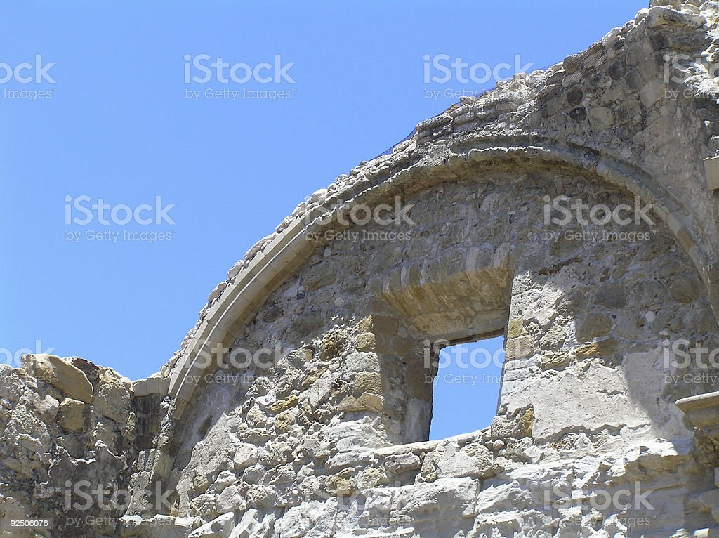 ruins of yore royalty-free stock photo