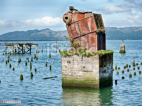 istock Ruins On The Columbia River 1193983449