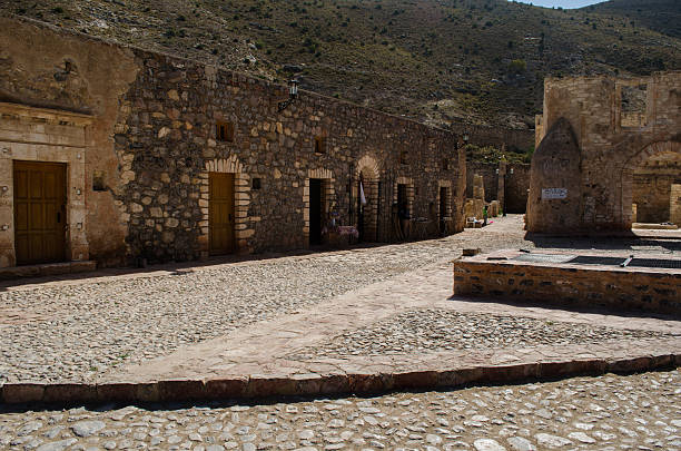 Ruins Construction ruins real de catorce stock pictures, royalty-free photos & images
