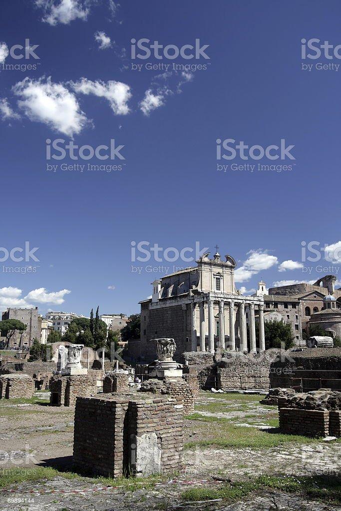 Ruins royalty-free stock photo