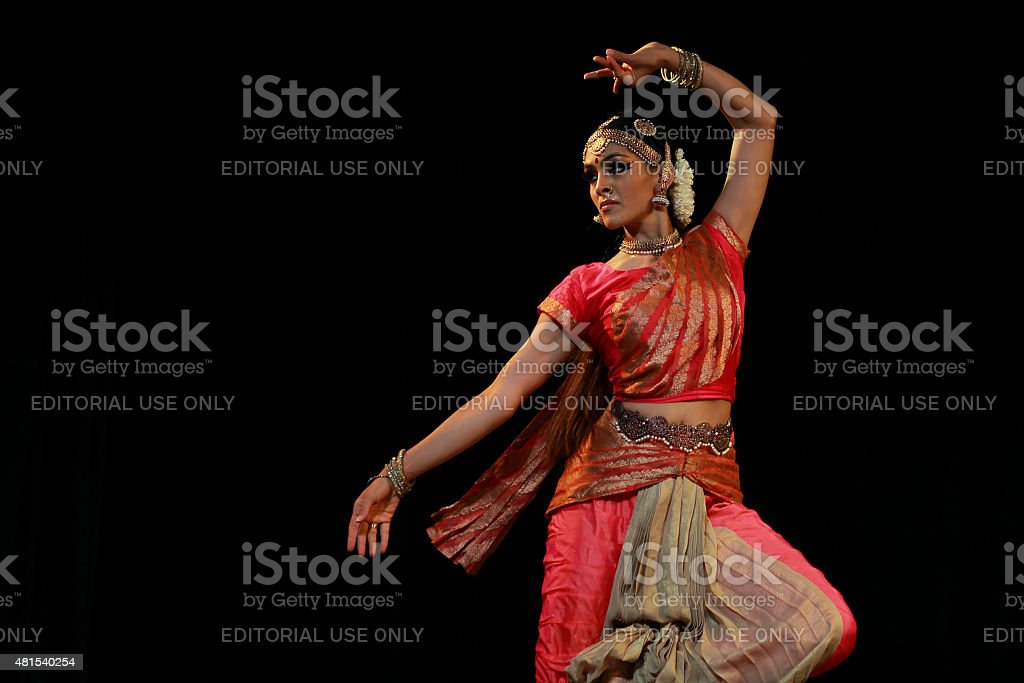 Rukmini Vijaykumar - Bharatanatyam stock photo