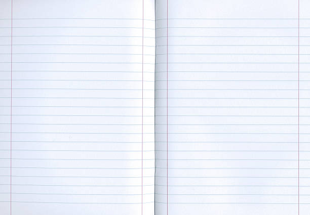 a rule lined notebook which is open and blank - linjerat papper bakgrund bildbanksfoton och bilder