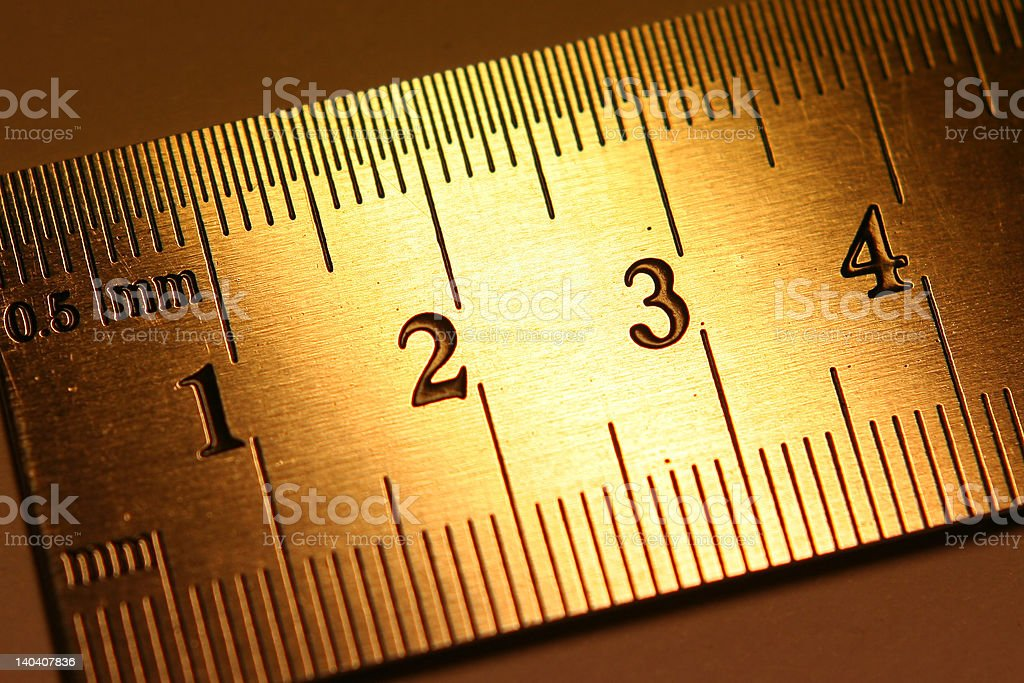 ruler royalty-free stock photo