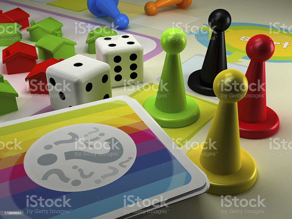 Rules of the game royalty-free stock photo