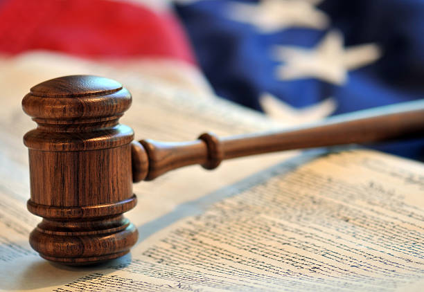 Rulings and judicial decisions stock photo