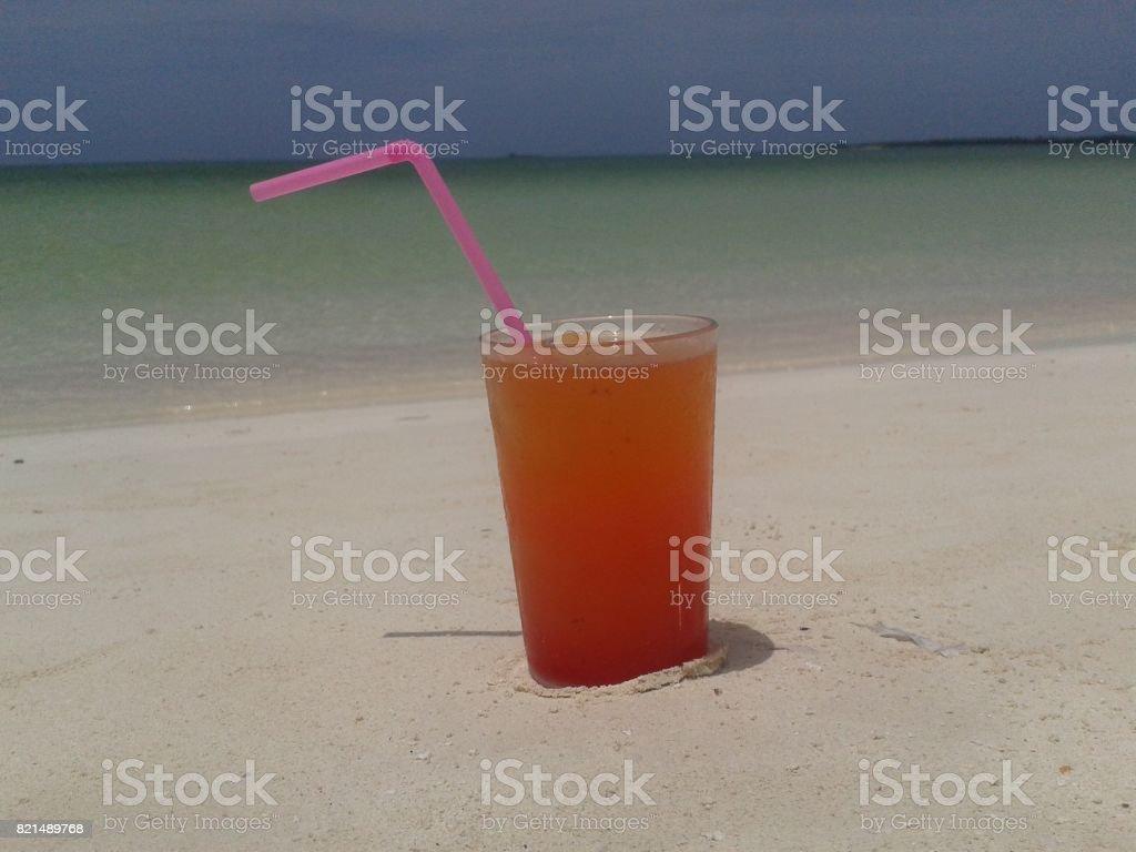 Rum Punch Anyone stock photo