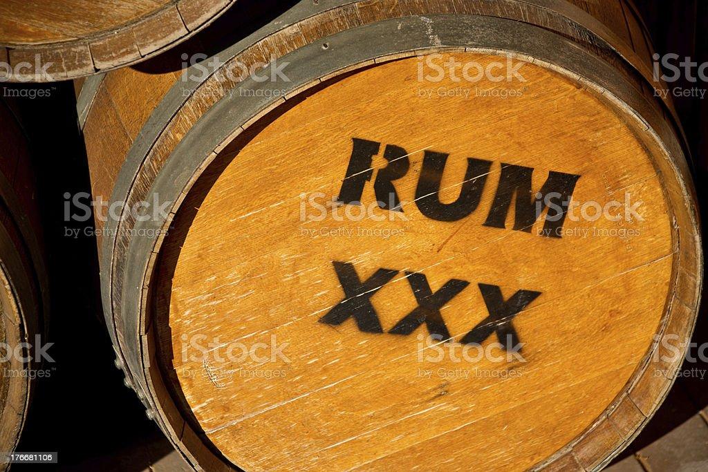 Rum XXX royalty-free stock photo