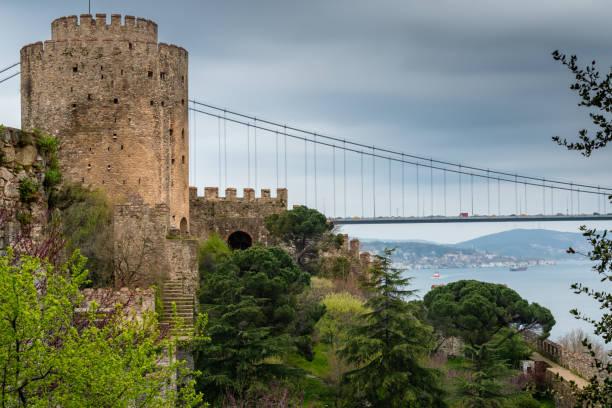 Rumeli Fortress, Istanbul, Turkey stock photo