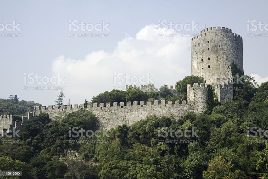 Rumeli Fortress, Turkey stock photo