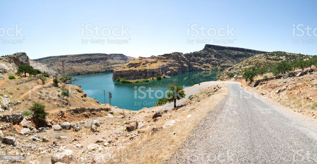 Rumkale-Gaziantep,Turkey stock photo