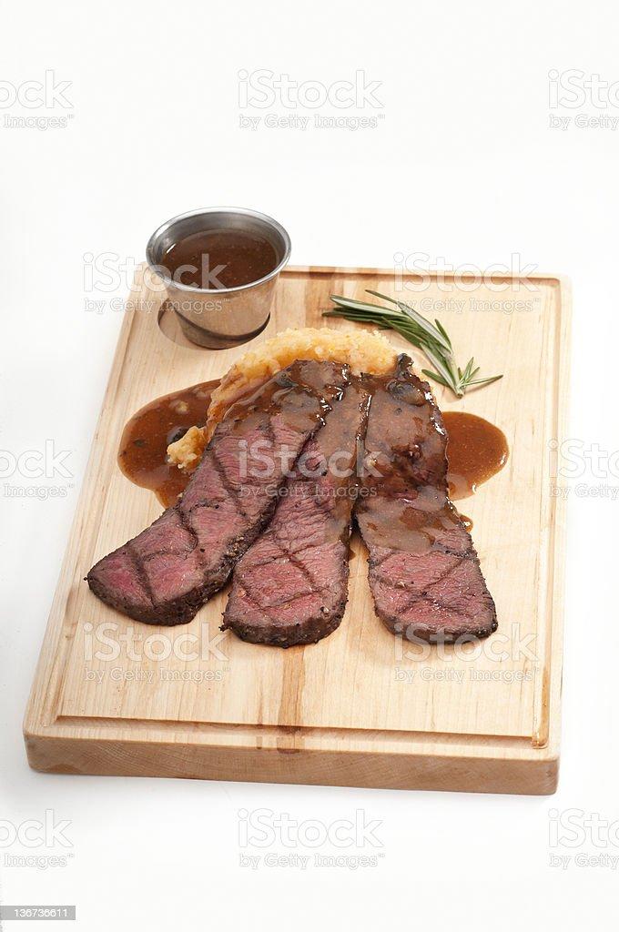 Rump cover steak (picanha) stock photo