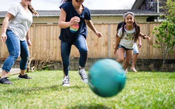 Run for ball. stock photo