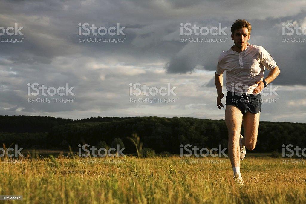 Run royalty-free stock photo