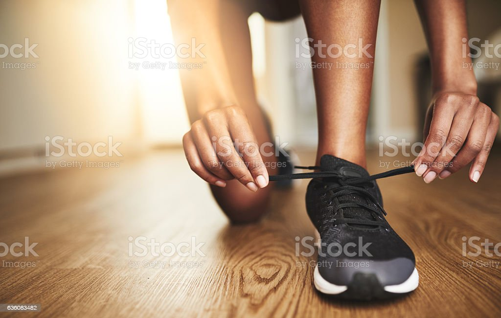 Run the day or it runs you stock photo