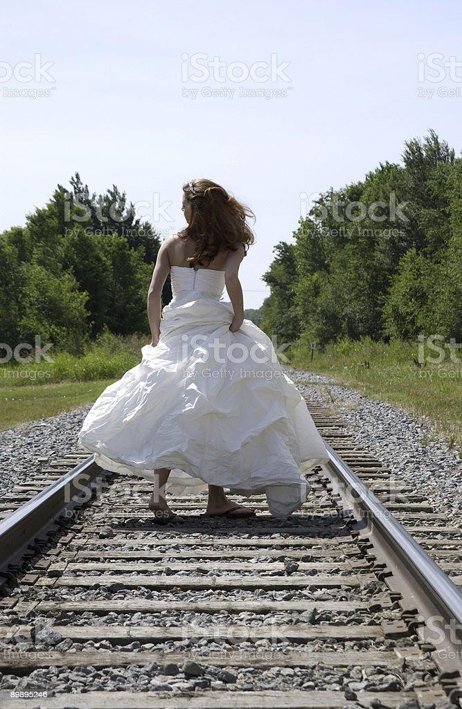 Неуправляемое Невеста Стоковые фото Стоковая фотография