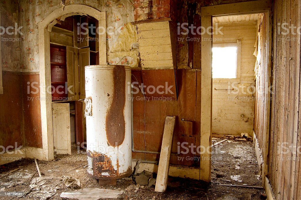 Run-down House royalty-free stock photo