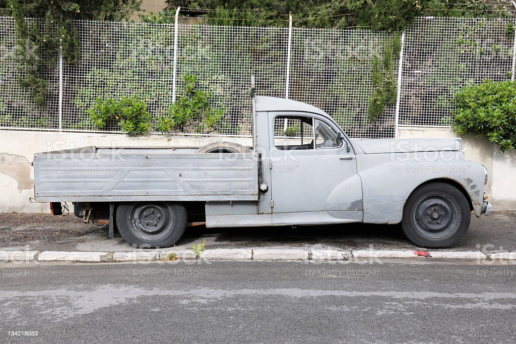 Rundown Old Pickup Truck Stock Photo & More Pictures of Abandoned ...