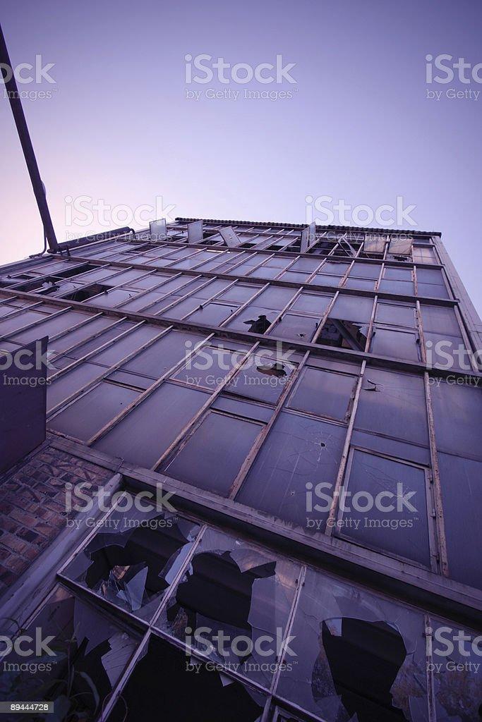 Rundown Skyscraper royalty-free stock photo
