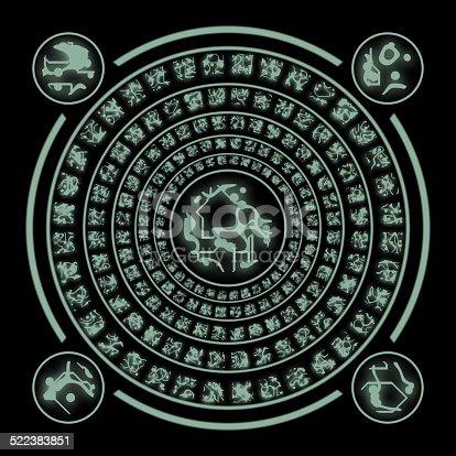 istock Runes generated hires texture 522383851