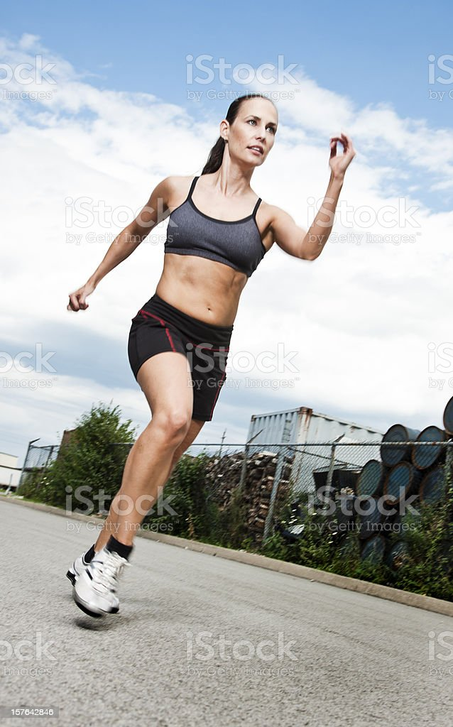 Runner royalty-free stock photo