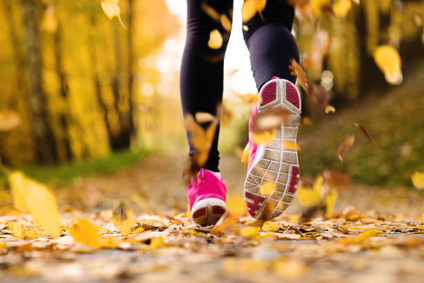 runner - rosa training stock-fotos und bilder