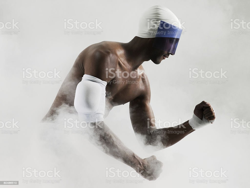 A runner royalty-free stock photo
