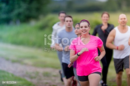 istock Runners of all Fitness Levels 541823254